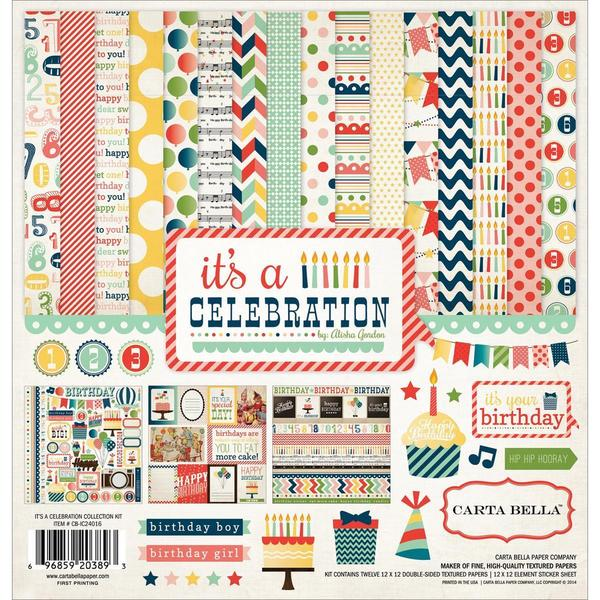 It's A Celebration Collection Kit 12 X12 -