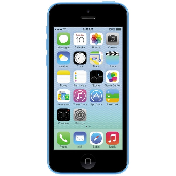 Apple iPhone 5C 32GB A1532 GSM Unlocked Blue Cell Phone