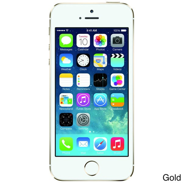 Apple iPhone 5S 64GB Unlocked GSM iOS Cell Phone