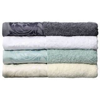 Jacquard Terry Scroll Design 6-piece Towel Set