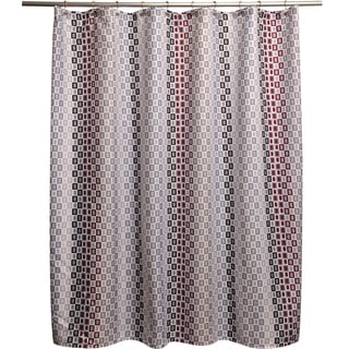 Tempo Red Shower Curtain
