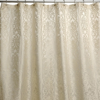 Furla Damask Cream Shower Curtain