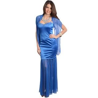 Feellib Women's Spaghetti Strap Long Dress
