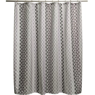 Tempo Grey Shower Curtain