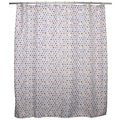 Elodie Dots/ Hexagons Shower Curtain
