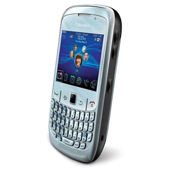 Blackberry Curve 8520 Unlocked GSM OS 5.0 Blue Cell Phone