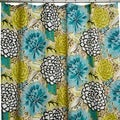 Petals Multicolor Shower Curtain