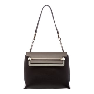 Chloe 'Clare' Tricolor Leather Framed Shoulder Bag