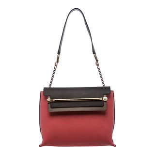 Chloe 'Clare' Tricolored Leather Shoulder Bag