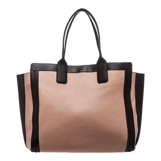 Chloe 'Alison' Anemone Pink/ Black Leather East/ West Tote