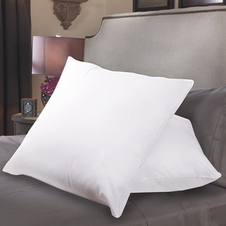 European Square 300 Thread Count Pillow (Set of 2)