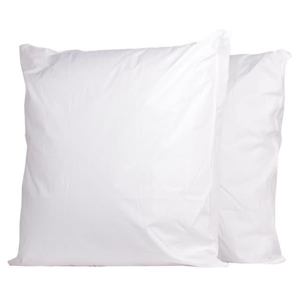 European Square 300 Thread Count Pillow (Set of 2)