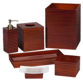 Citadel Chestnut Bath Accessory Collection