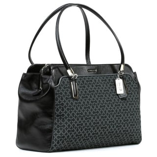 Coach 'Madison Kimberly' Jacquard Fabric Carryall Bag