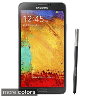 Samsung Galaxy Note 3 N9000 32GB GSM Unlocked Black Android Phone (Refurbished)