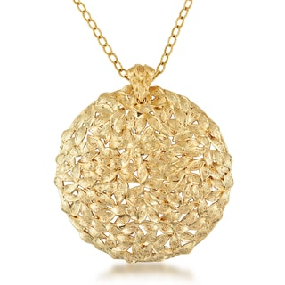 Miadora 18k Yellow Gold Medallion Necklace