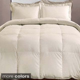 Hotel Grand 1000 Thread Count Cotton Rich Oversized Down Alternative Comforter