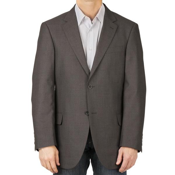 Dockers Men's Charcoal Tic Sport Coat