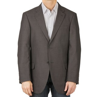 Dockers Men's Charcoal Tic Sport Coat