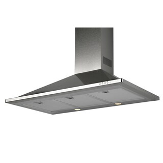 Trapezoidal Series 36-inch 430 Stainless Steel/ 0.8mm Range Hood