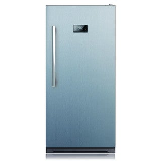 13.7-cubic Foot Stainless Steel Upright Freezer