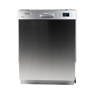Equator Full-sized Built-in Silver Dishwasher