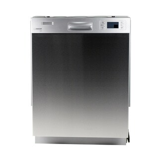 Equator ADA Compliant Full-size Built-in Silver Dishwasher