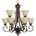 Brighton 9-light Oil Rubbed Bronze Chandelier