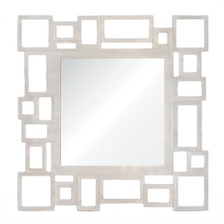 Renwil Malmo Brushed Nickel Mirror