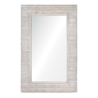 Renwil Zagora Brushed Nickel Mirror