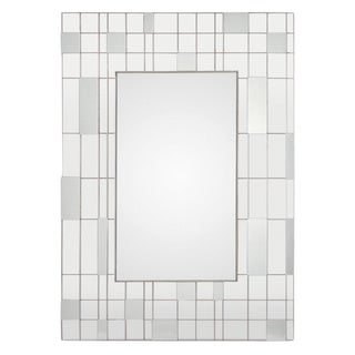 Renwil Solna Brushed Nickel Mirror