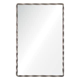Renwil Leadscrew Brushed Nickel Mirror