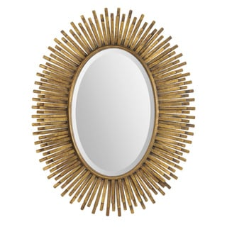 Ren Wil Renwil Sparta Antique Gold Leaf Mirror