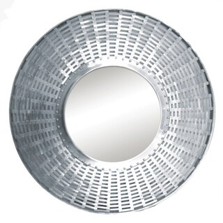 Renwil Khadi Polished Nickel Mirror