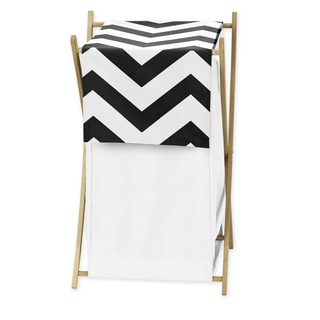 Sweet Jojo Designs Black and White Chevron Hamper