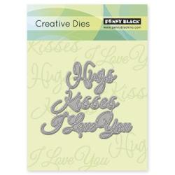 Penny Black Creative Dies - Love Expressions