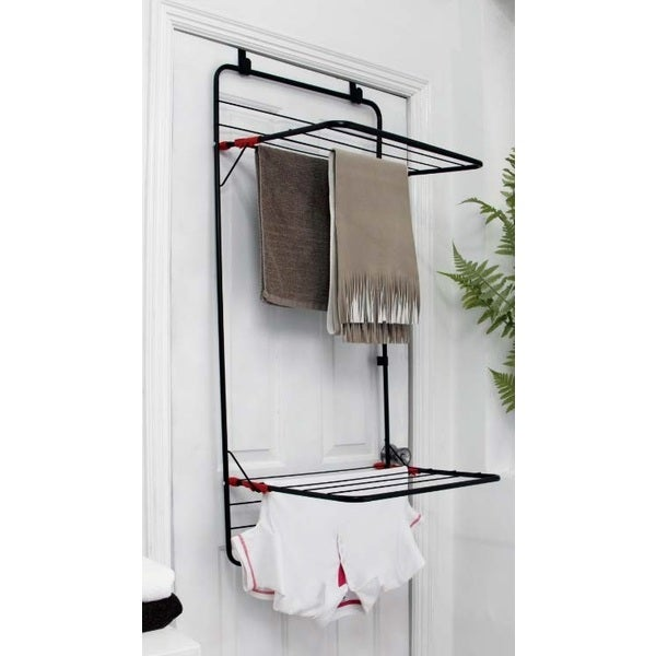 samsonite over the door steel dryer rack 16095600 shopping great deals on. Black Bedroom Furniture Sets. Home Design Ideas