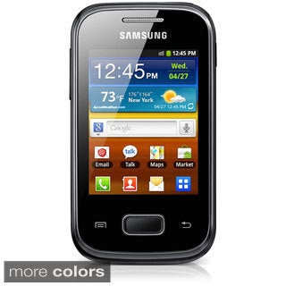 Samsung Galaxy Pocket Plus S5301 Unlocked GSM Android Cell Phone