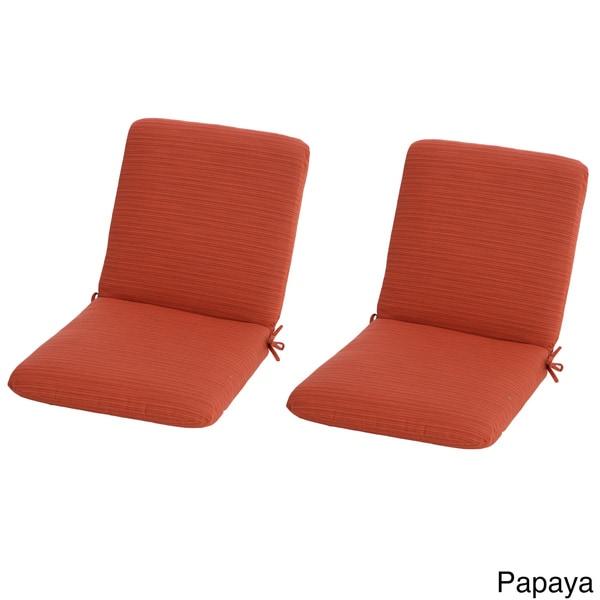 Phat Tommy Sunbrella Club Chair Cushion Set