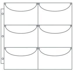 ScrapRack Basic Storage Pages 10/Pkg - Perfect 6