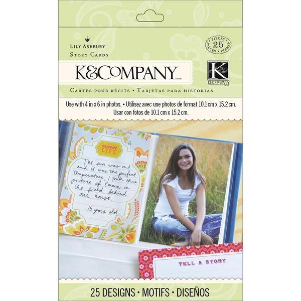 Raspberry Lemonade Story Cards 24/Pkg -