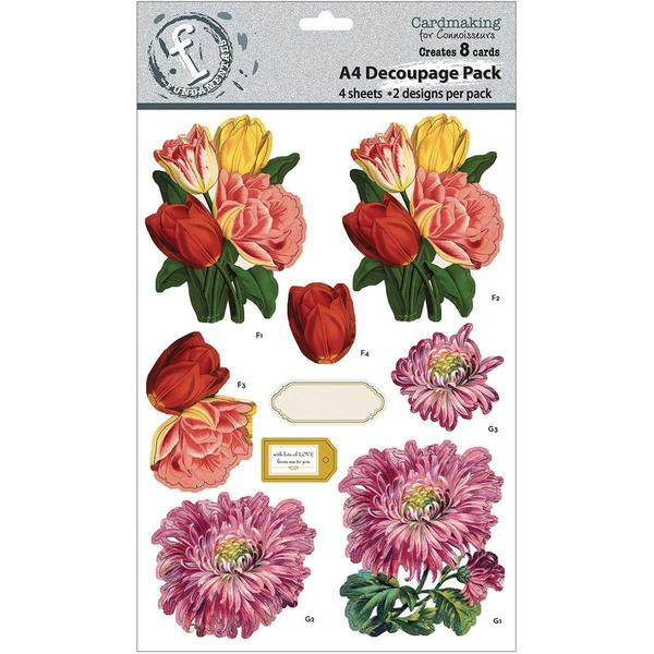 Fundamentals 3D Decoupage Pack - Floral