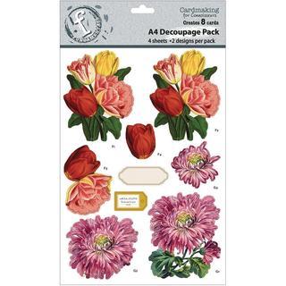 Fundamentals 3D Decoupage Pack - Floral