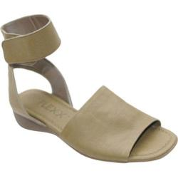 Women's The Flexx Be Glad Khaki Sagar Leather