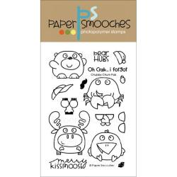 Paper Smooches 4 X6 Clear Stamps - Chubby Chum Pals