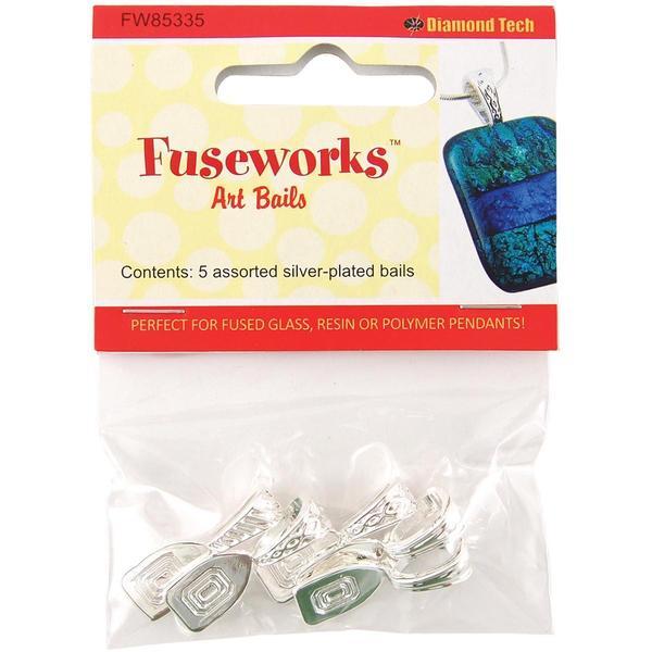 Fuseworks Art Bails 5pc - Silver