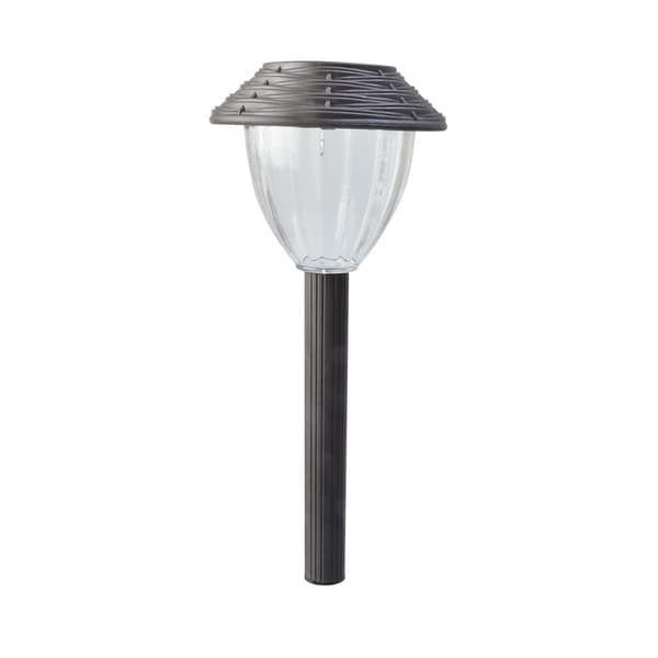 Moonrays Chocolate Brown Outdoor Path Light (Pack of 6)