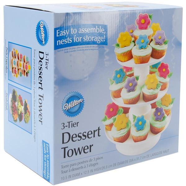 3 Tier Stacking Dessert Tower -
