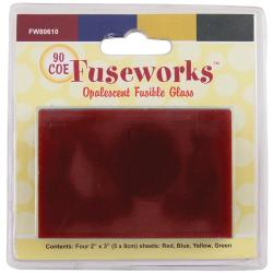 Fuseworks Fusible Glass Pack - Opalescent