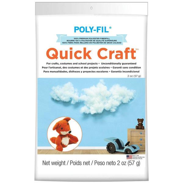 Quickcraft Fiber Fill 2oz - White